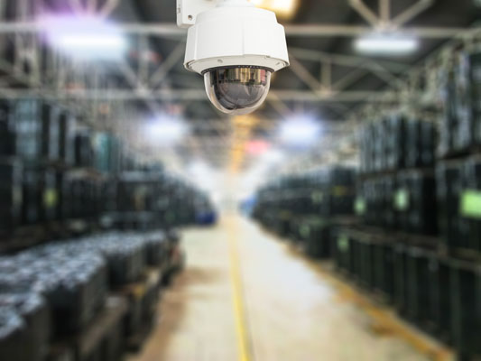 Factory CCTV, Commercial CCTV, Business Electronic Security Solutions